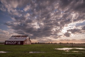 Aggie Barn (landscape), College Station, Texas