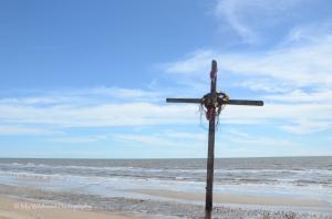 Beach Cross, High Island, Texas