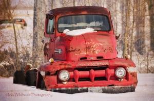 Coca Cola Truck, Alberta, Canada