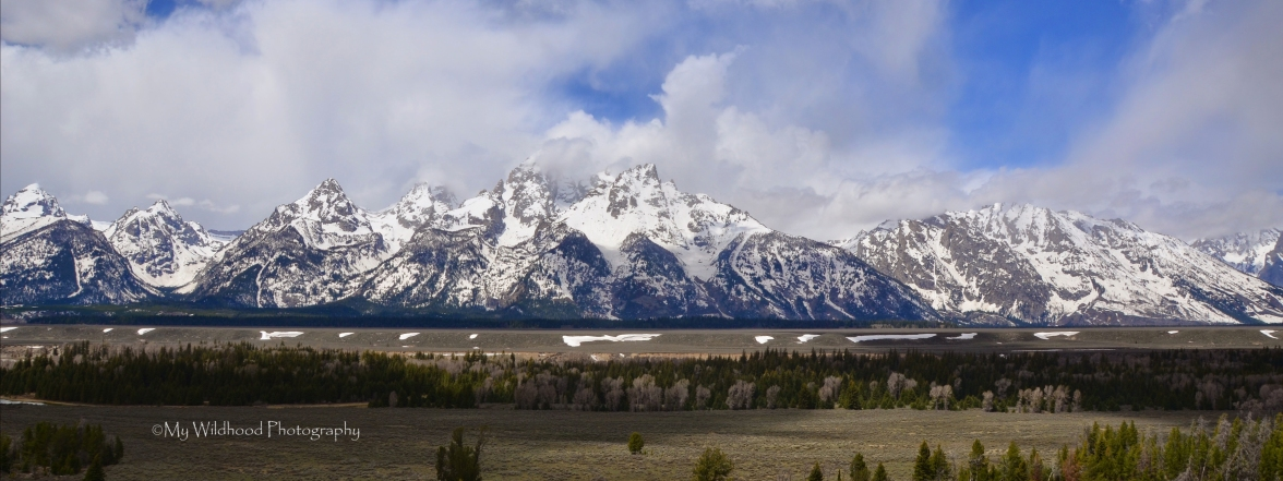 Grand Tetons in Color, Grand Teton National Park, Wyoming
