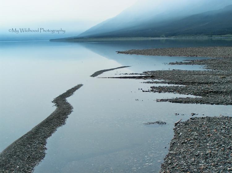 Smoke Lake, Lake Kluane, Yukon Territory, Canada