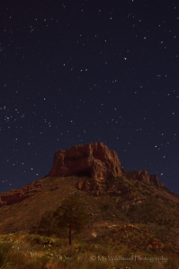 Stars Over Casa Grande, Big Bend National Park, Texas
