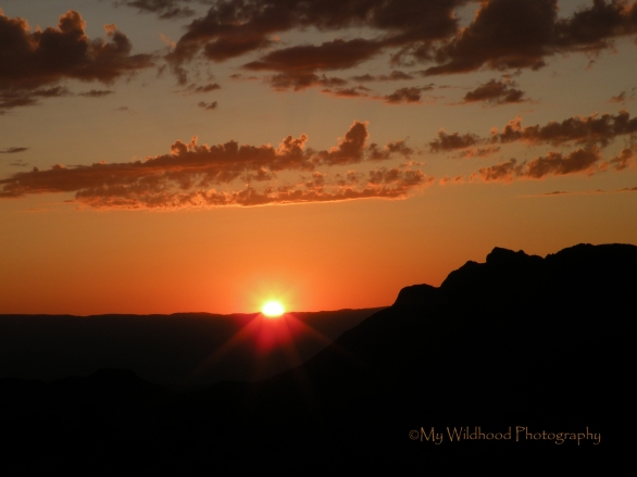 Sunset Over Mexico, Big Bend National Park