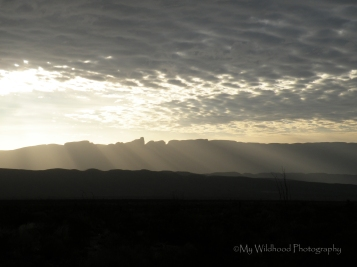 Sunrise Over the Carmens, Big Bend National Park, Texas