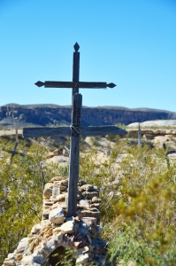 Terlingua Cemetery (portrait), Terlingua, Texas